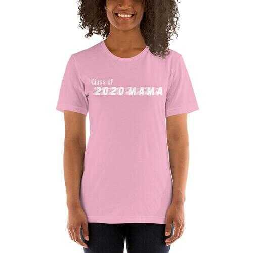 Class Of 2020 Mama Short-Sleeve Tee