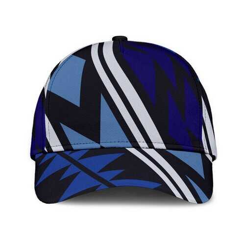 Blue Aztec Style Classic Cap