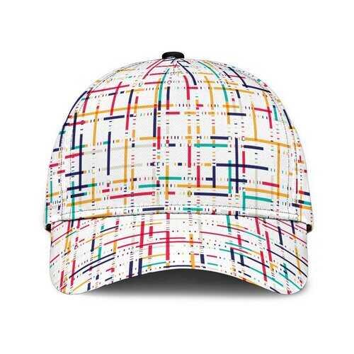Colorful Stripe Style Classic Cap