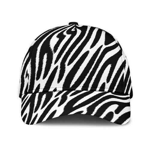 Black And White Zebra Style Baseball Cap