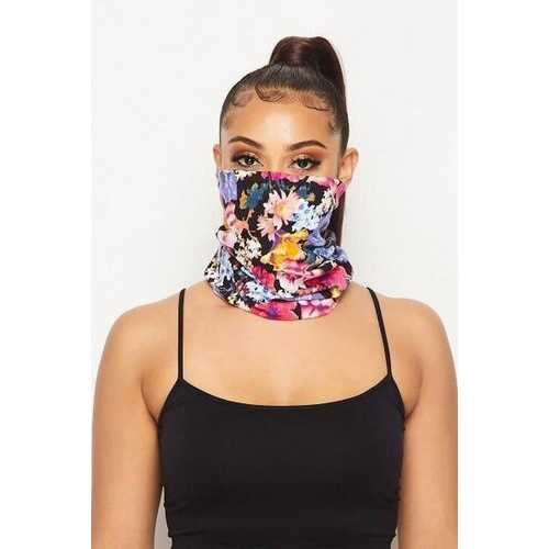 Neck Gaiters, Floral Style Face Covering