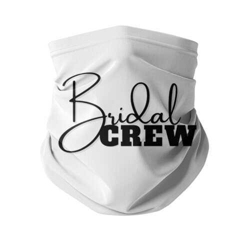 Bridal Crew Graphic Neck Gaiter