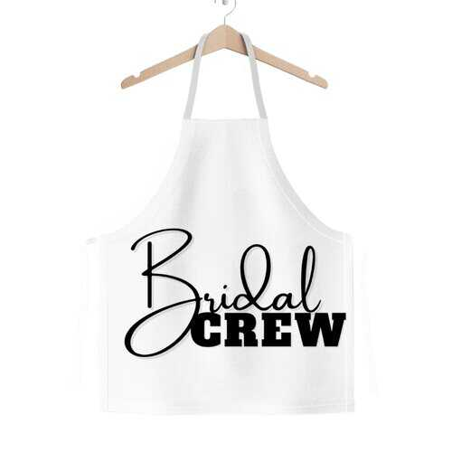 Bridal Crew Graphic Classic Adult Apron