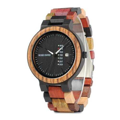 Watches, Quartz Wood Style Watch