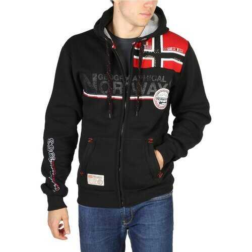 Geographical Norway -  Mens Front Zip Sweatshirt (Faponie)