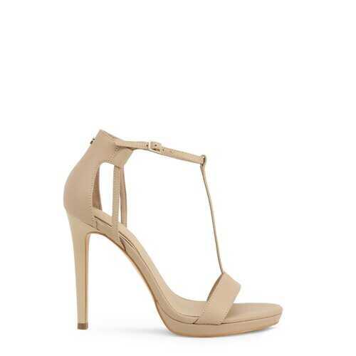 Guess Women's Sandals, High Heel Ankle Strap Stiletto Shoes /  FL6TEU