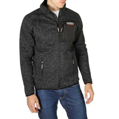 Geographical Norway - Mens Front Zip Fleece Shirt