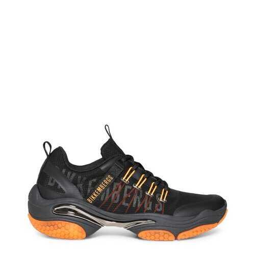 Bikkembergs Men's Sneakers, Low Top Athletic Shoes - Black / Blue
