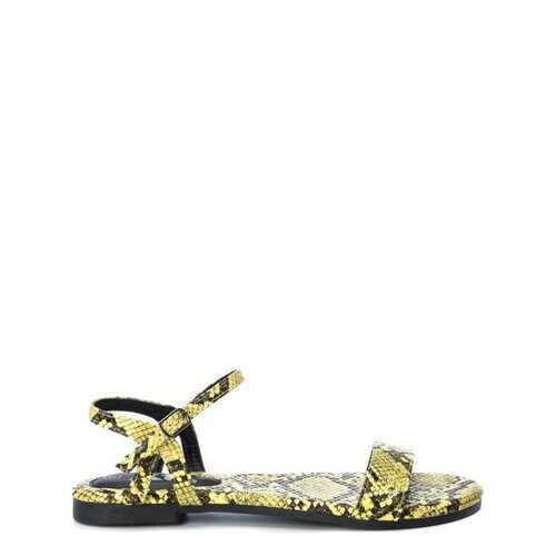 Xti Women's Sandals, Flat Ankle Strap Open Toe Shoes / 49579