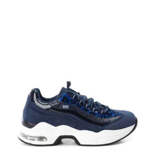 Xti Women's Sneakers, Low Top Athletic Shoes - Blue