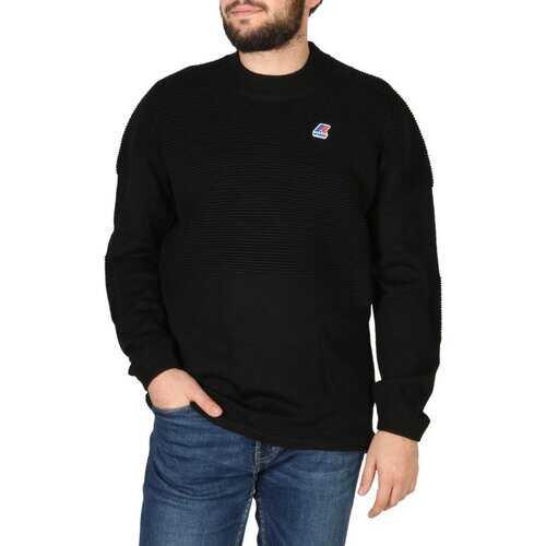 K-Way Men's Long Sleeve Sweater - Black