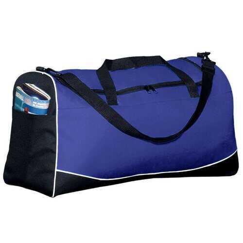 Athletic Sports Bag, Large Tri-Color Duffle Bag - Sportsgear
