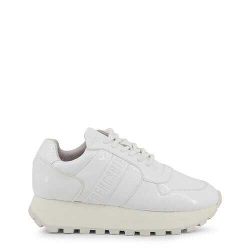 Bikkembergs Women's Sneakers, Low Top Athletic Running Shoes - White