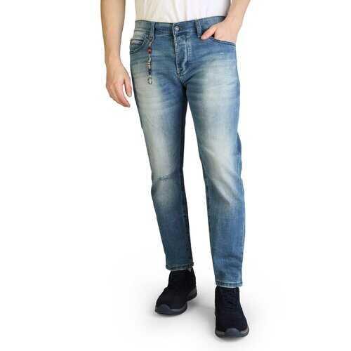 Yes Zee Men's Denim Jeans - Blue