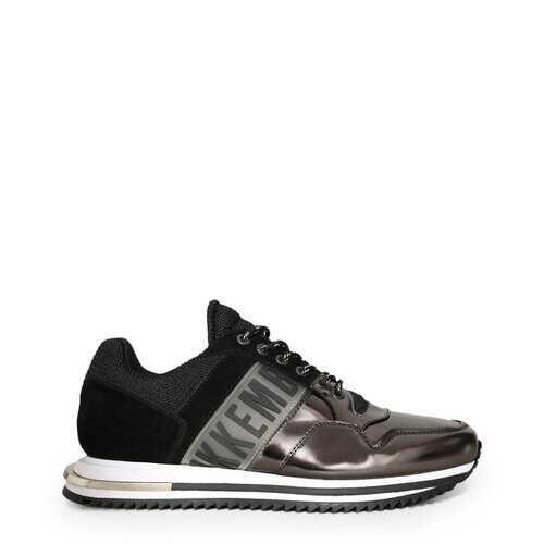 Bikkembergs Men's Sneakers, Hovan Low Top Athletic Shoes - Grey