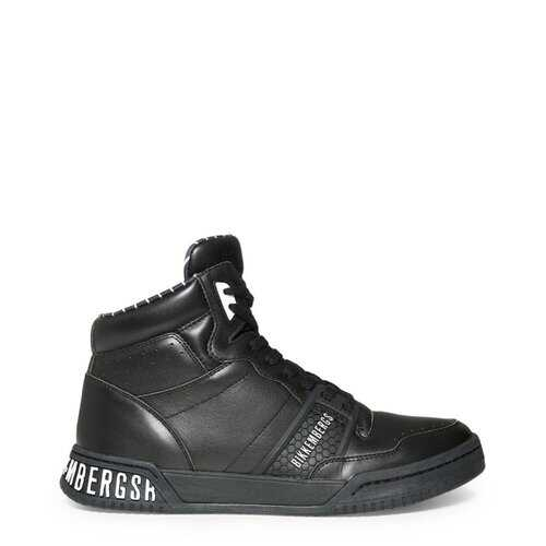 Bikkembergs Men's Sneakers, High Top Athletic Shoes - Sigger / Black