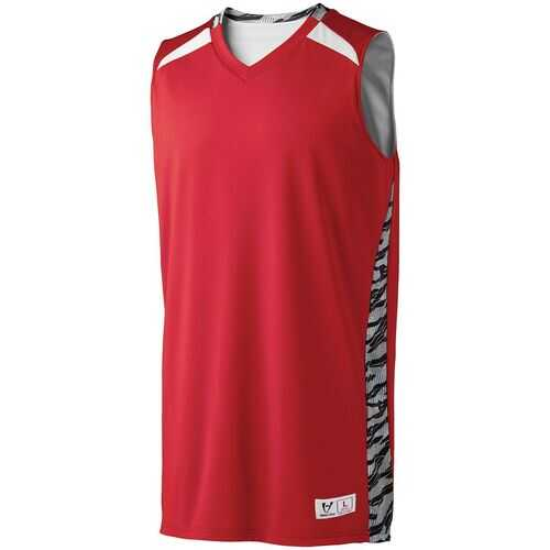 ADULT PRINTED CAMPUS REVERSIBLE JERSEY