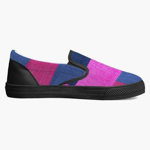 Classic Slip-On Shoes - White/Black
