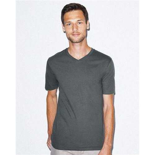 American Apparel - T-Shirts, Unisex Fine Jersey Classic V-Neck Tee