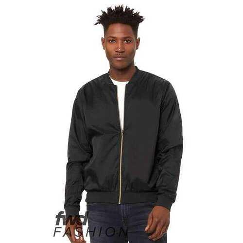 BELLA + CANVAS - Outerwear, FWD Fashion Unisex Lightweight Bomber Jacket