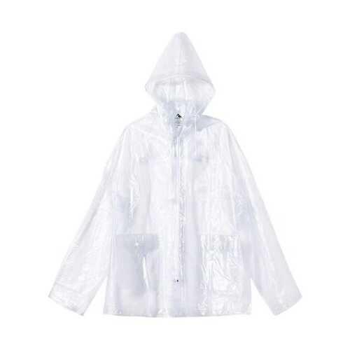 Augusta - Outerwear, Clear Hooded Rain Jacket