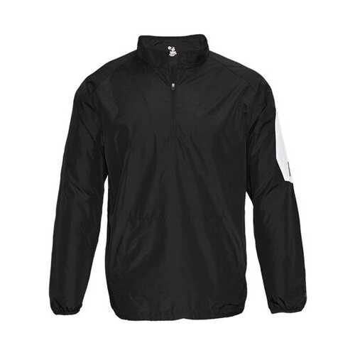 Badger - Outerwear, Youth Sideline Long Sleeve Pullover