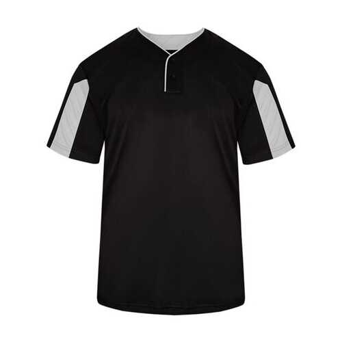 Alleson - T-Shirts, Youth Striker Placket