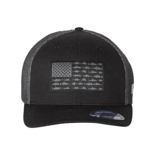 Columbia - Headwear, PFG Fish Flag Mesh(TM) Flexfit Cap