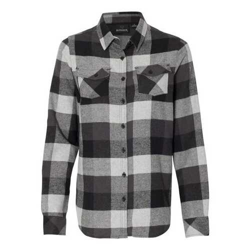 Burnside - Wovens - Fall, Women's Yarn-Dyed Long Sleeve Flannel Shirt
