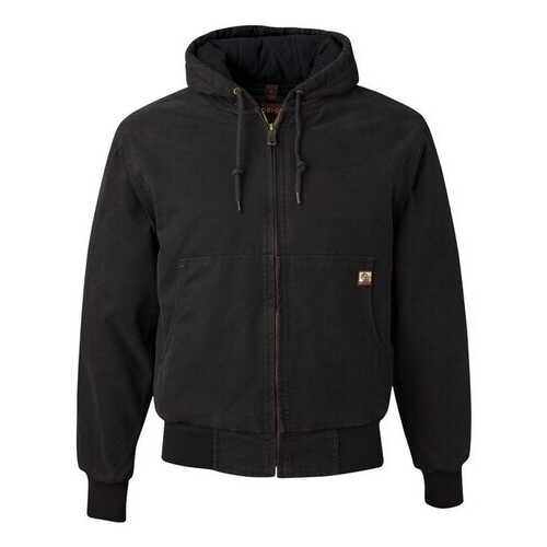 DRI DUCK - Outerwear, Cheyenne Boulder Cloth(TM) Hooded Jacket with Tricot Quilt Lining Tall Sizes