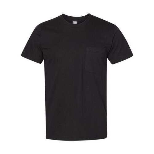 American Apparel - T-Shirts, Unisex Fine Jersey Pocket Tee