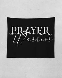 Wall Tapestries, Prayer Warrior  Tapestry 60 In X 51 In