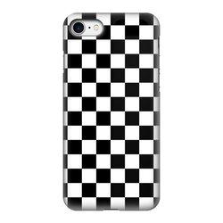 Black and White Checker Style Tough Phone Case