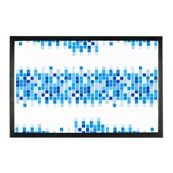 Mosaic Squares Graphic Style Sublimation Doormat