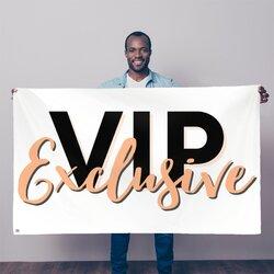 Vip Exclusive Black Graphic Decorative Tapestry