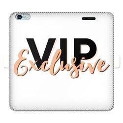 VIP Exclusive Black Graphic Wallet Case
