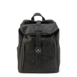 Carrera Jeans Backpack, Multicompartment Rucksack - Black / Blue