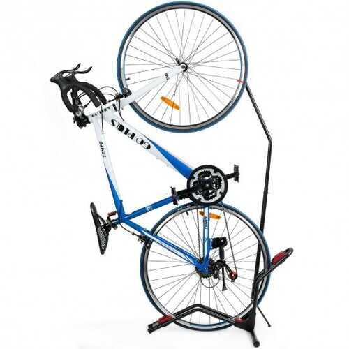 Vertical Horizontal Floor Rack Bike Stand