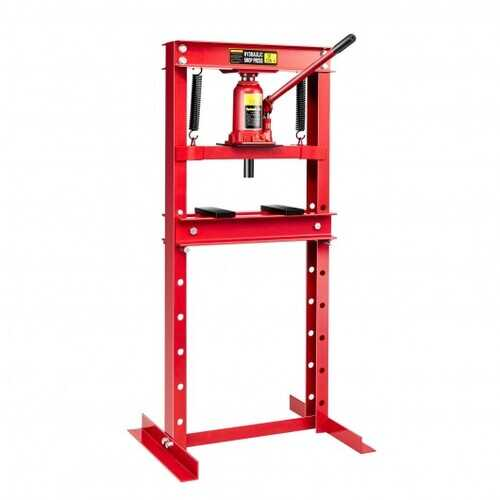 12-Ton H-Frame Plates Hydraulic Shop Press