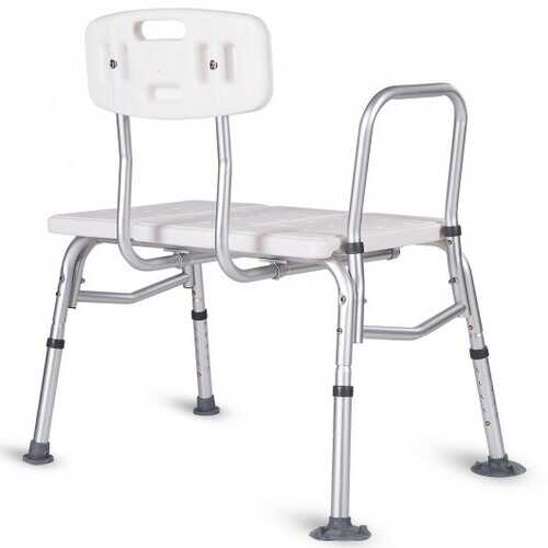 Tub Transfer Shower Seat with Adjustable Arm