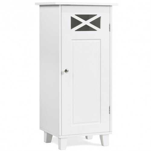 Bathroom Cabinet Free Standing Storage Side Table Organizer