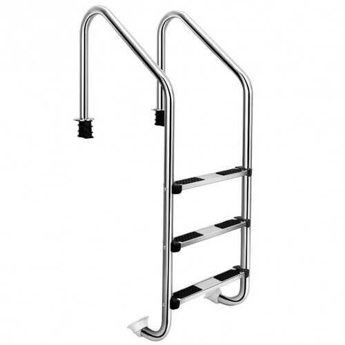 3-Step Swimming Pool Ladder w/ Anti-Slip Steps