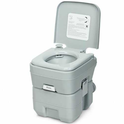 5.3 Gallon 20L Portable Travel Toilet Potty Commode