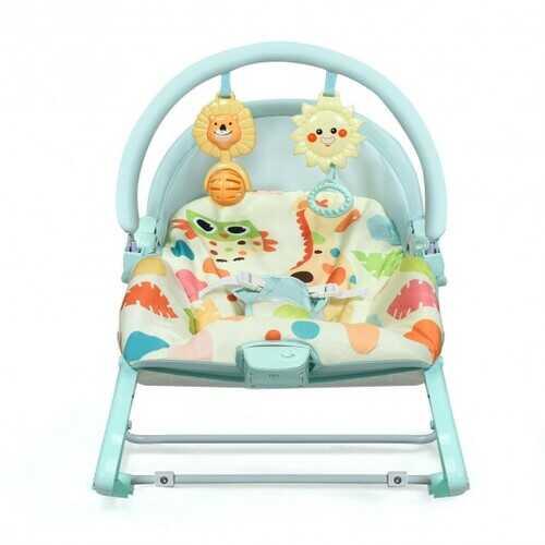 Baby Adjustable Swing Bouncer & Rocker-Green