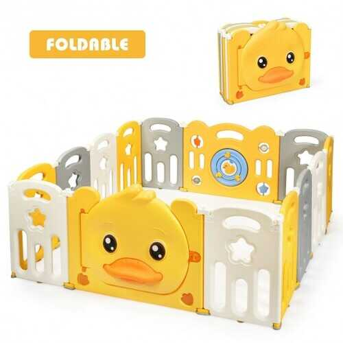 14-Panel Foldable Baby with Sound