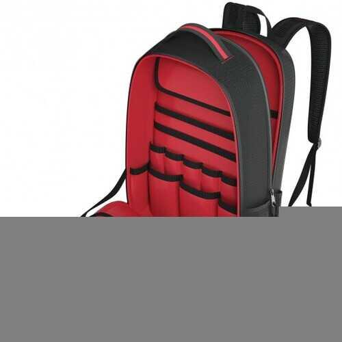 Tool Backpack Heavy Duty Jobsite Tool Bag 26 Pockets