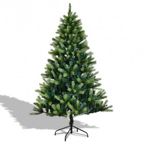 6' / 7' Artificial Christmas Tree w/ Solid Metal Legs-5'