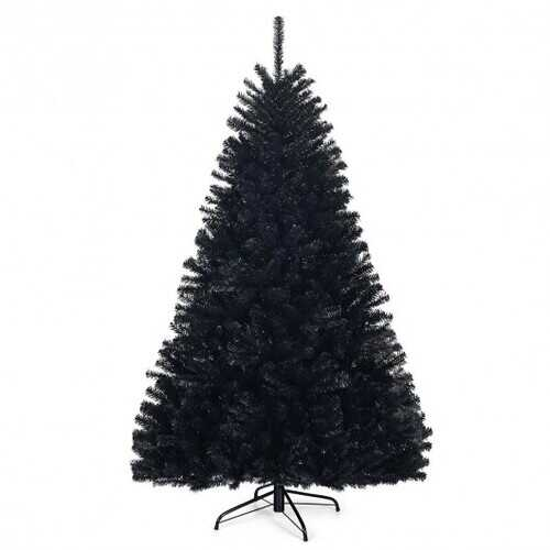6Ft Hinged Artificial Halloween Christmas Tree