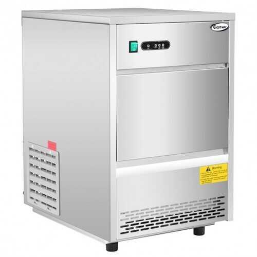 Automatic Ice Maker Machine w/ 70lbs/24h Productivity