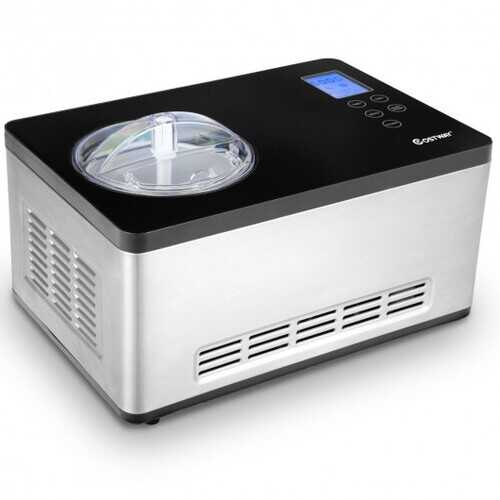 2.1 Quart Ice Cream Maker with LCD Timer Control